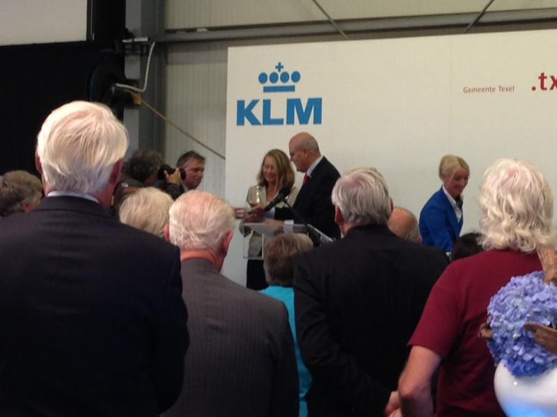 Uitreiking KLM huisje
